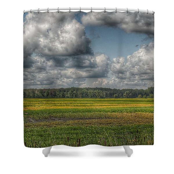 2006 - Skies Of September Shower Curtain