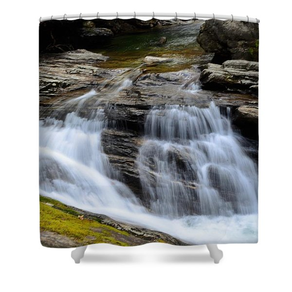 Skinny Dip Falls Shower Curtain