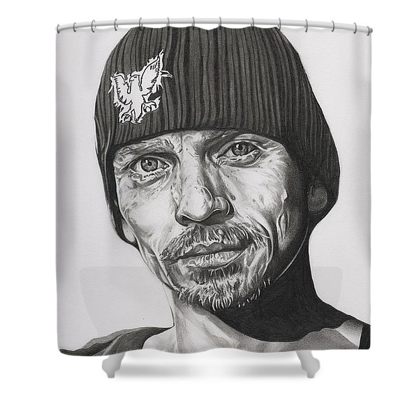 Skinny Pete  Breaking Bad Shower Curtain