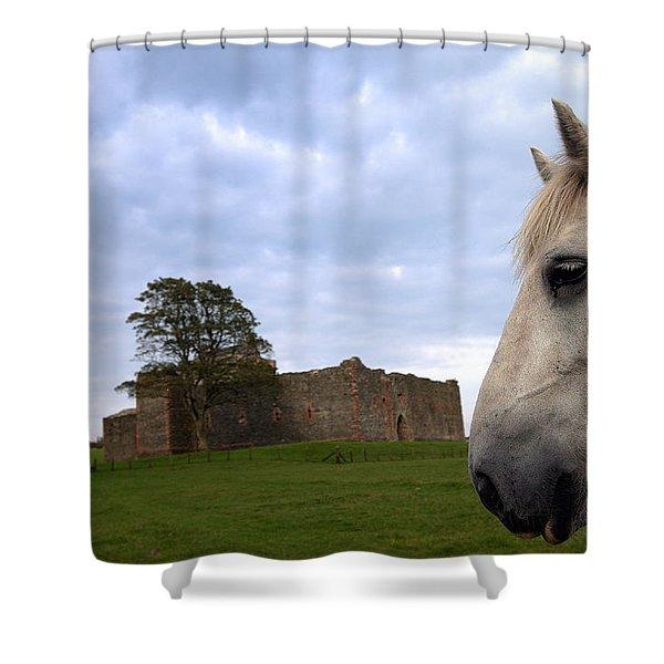 Skipness Castle Shower Curtain
