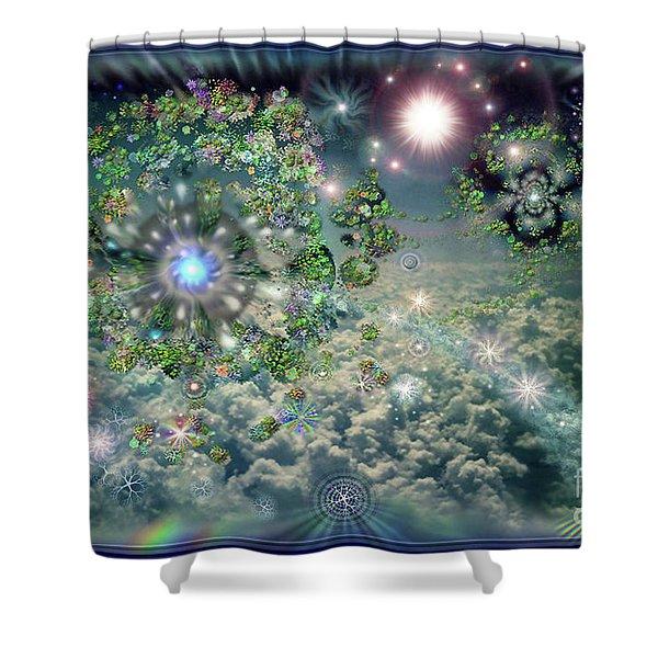 Sky 11-11 Shower Curtain