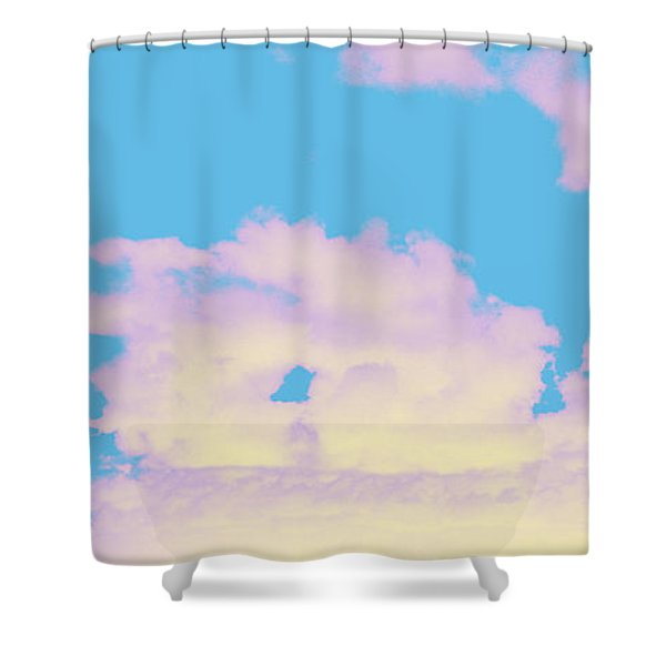 Sky #6 Shower Curtain
