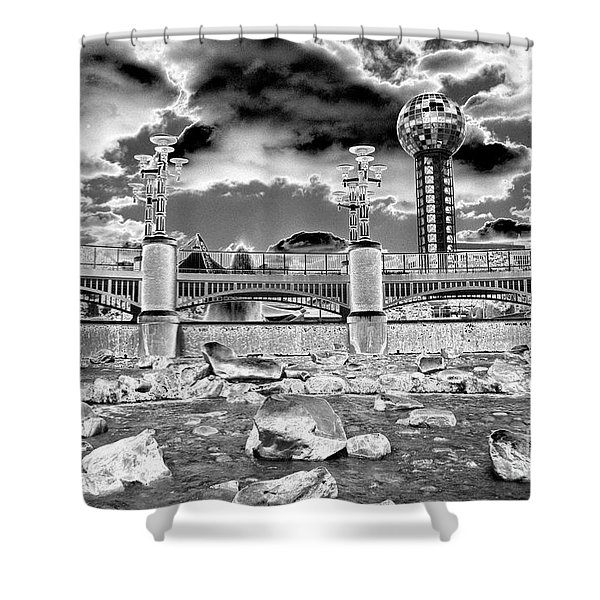 Sky Dome - Se1 Shower Curtain