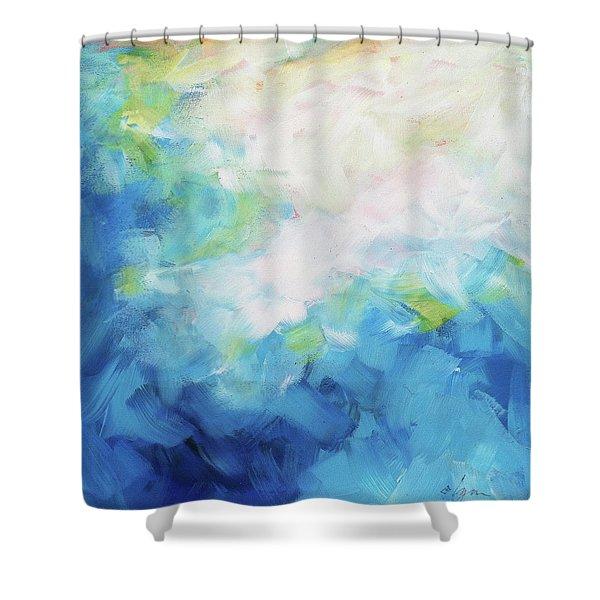 Sky Fall Shower Curtain