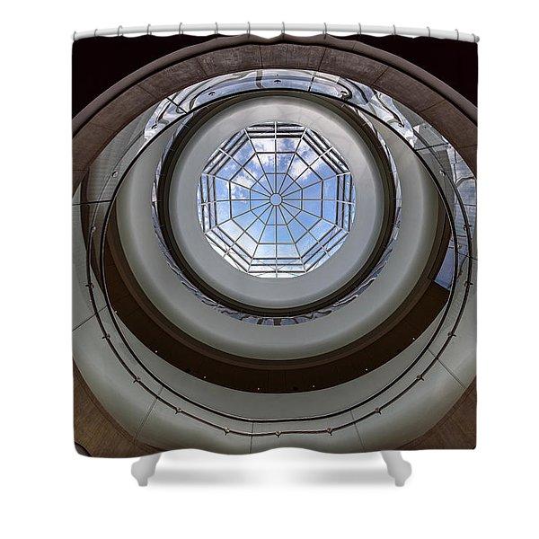 Sky Portal Shower Curtain