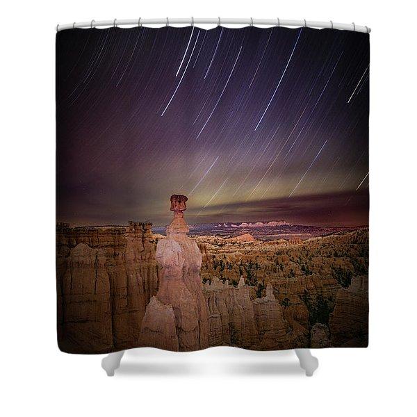Sky Scraper Shower Curtain