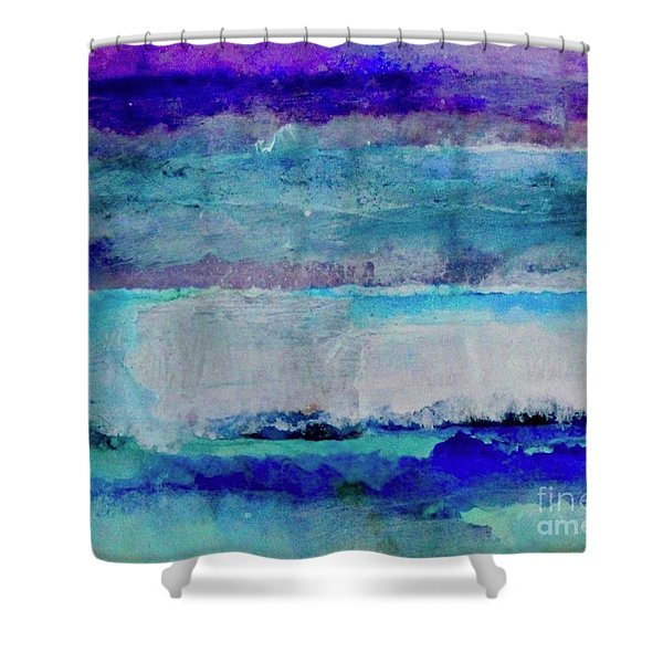 Sky Striations Shower Curtain