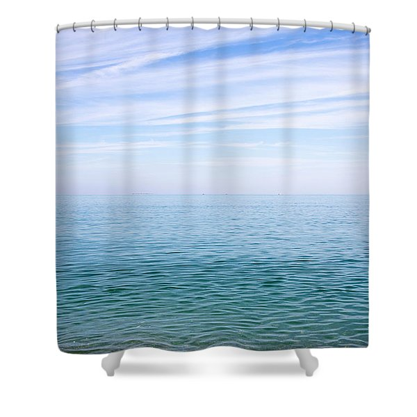 Sky To Shore Shower Curtain