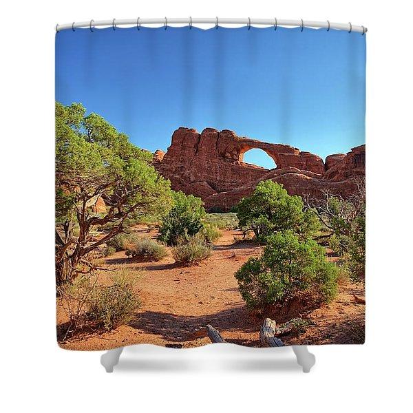 Skyline Arch Shower Curtain