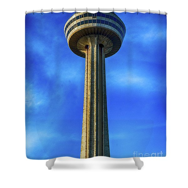 Skylon Tower Shower Curtain