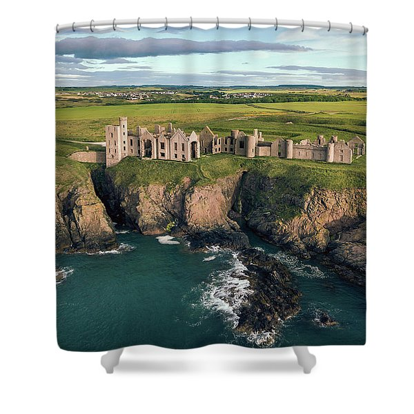 Slains Castle Shower Curtain