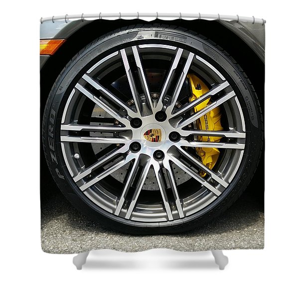 Sleek And Fast Shower Curtain