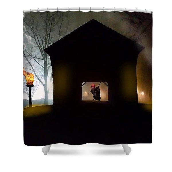 Sleepy Hollow - The Bridge Shower Curtain