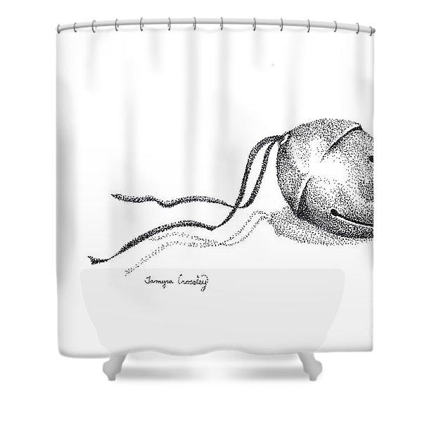 sleigh Bell Shower Curtain