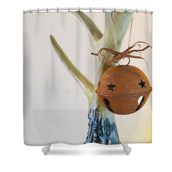 Sleighbell Shower Curtain