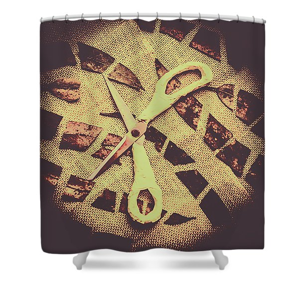 Slices Of Autumn Shower Curtain