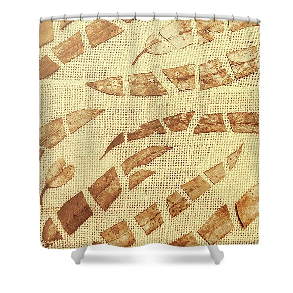 Slices Of Fall Shower Curtain