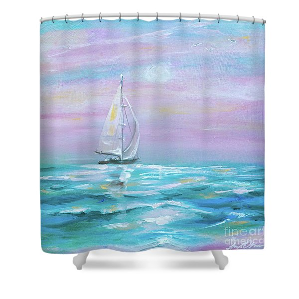 Slight Wind Shower Curtain