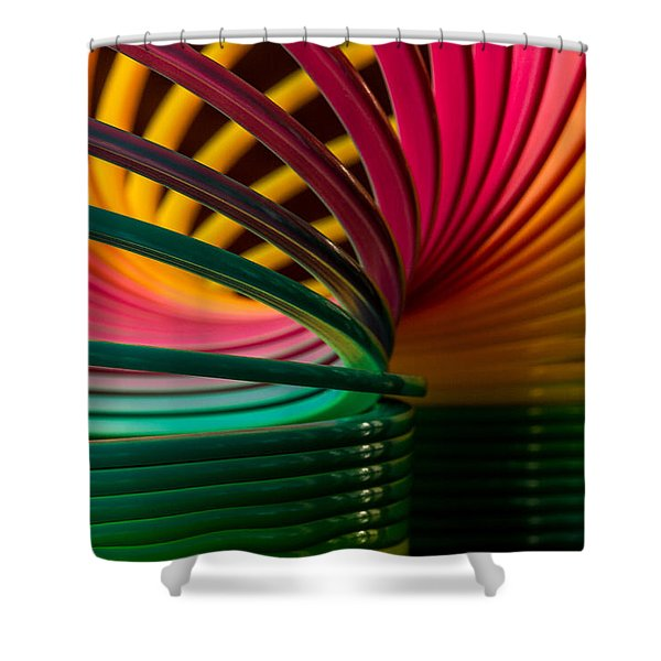 Slinky IIi Shower Curtain