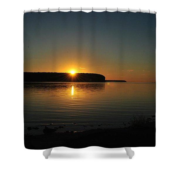 Slip Away Shower Curtain
