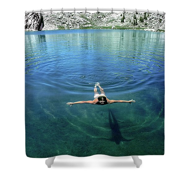 Slip Into Something Comfortable Shower Curtain