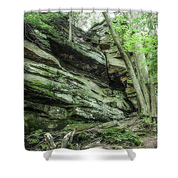 Slippery Rock Gorge - 1958 Shower Curtain
