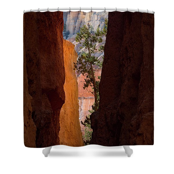 Sliver Of Bryce Shower Curtain
