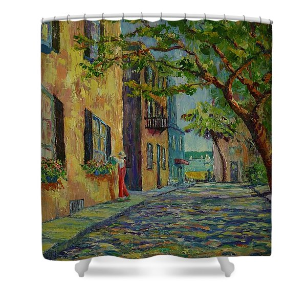 Farmer's Daughter  Shower Curtain