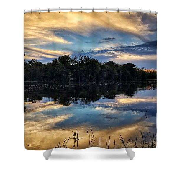 Slow Zone Shower Curtain