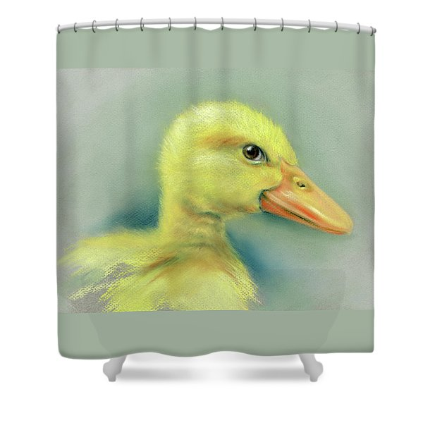 Sly Little Duckling Shower Curtain
