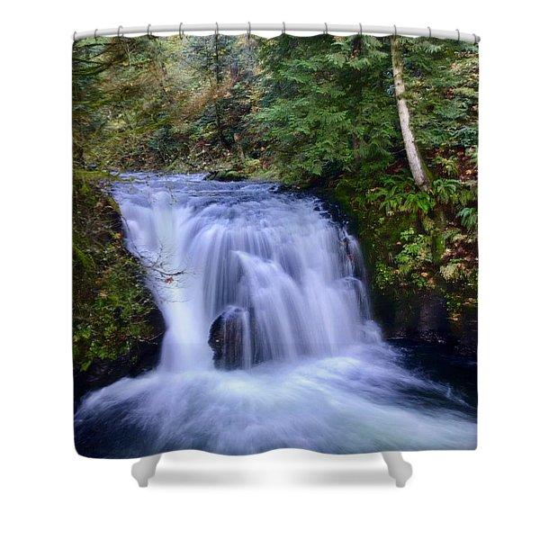 Small Cascade Shower Curtain
