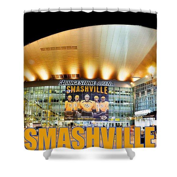 Smashville Shower Curtain