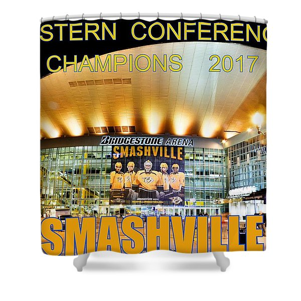 Smashville Western Conference Champions 2017 Shower Curtain