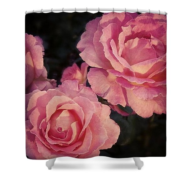 Smell The Beauty Shower Curtain