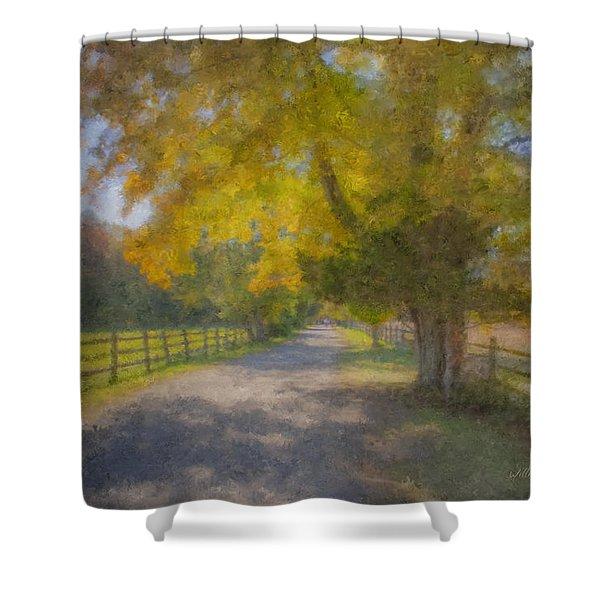 Smith Farm October Glory Shower Curtain