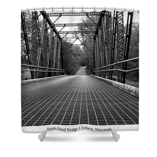 Smith Road Bridge  Shower Curtain