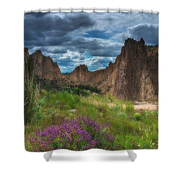 Smith Rock Shower Curtain