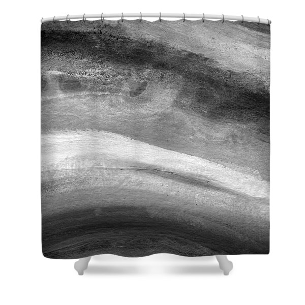 Smoke- Abstract Art By Linda Woods Shower Curtain