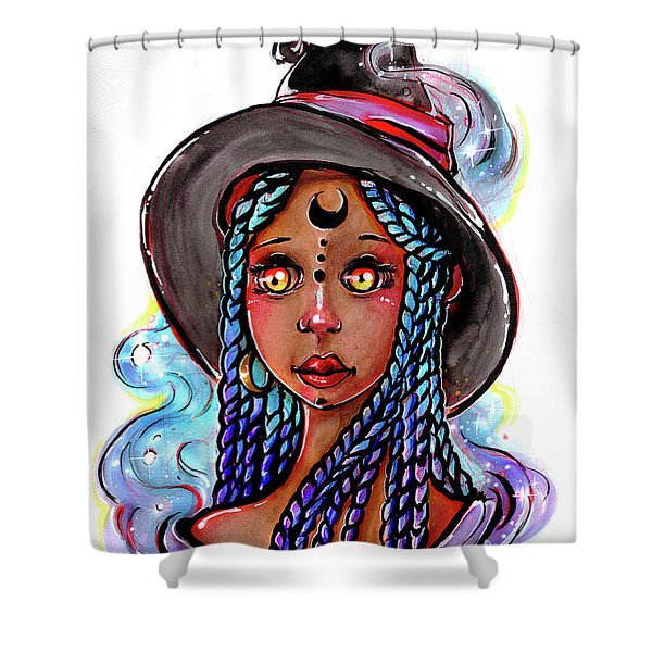 Smoke Witch Shower Curtain