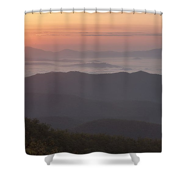 Smokey Sunset Shower Curtain