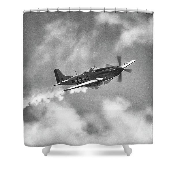 Smokin 51 Bw Shower Curtain