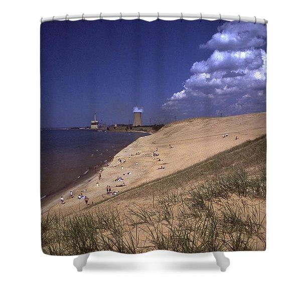 Smoking Dune    Indiana National Lakeshore Shower Curtain