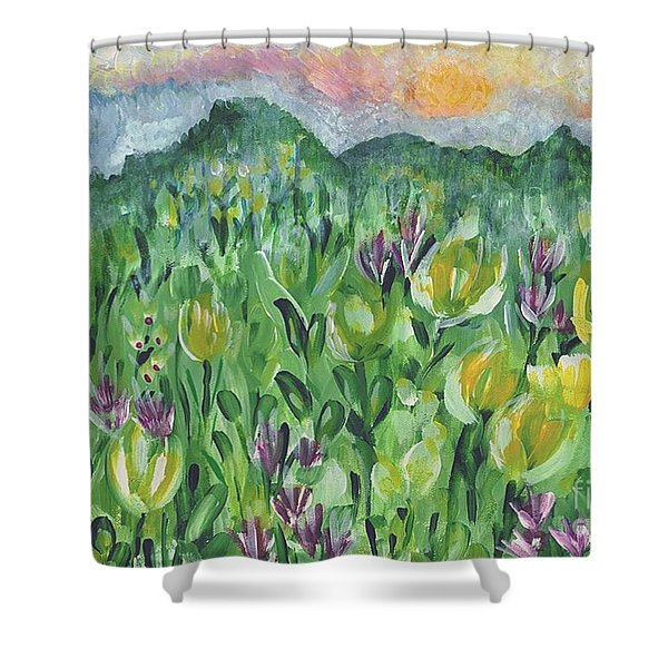 Smoky Mountain Dreamin Shower Curtain