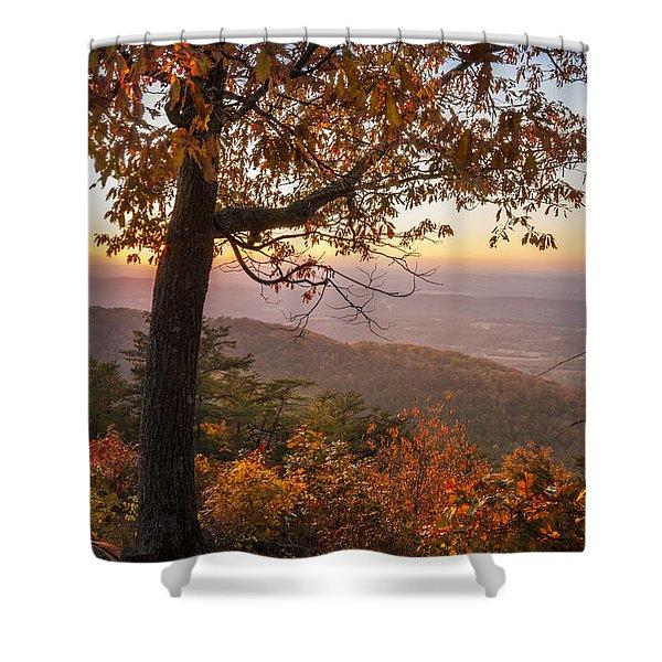 Smoky Overlook Shower Curtain
