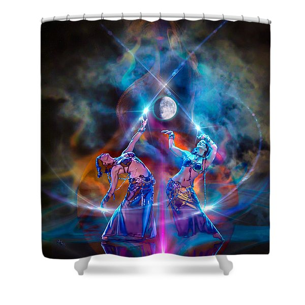Smoldering Charms Shower Curtain