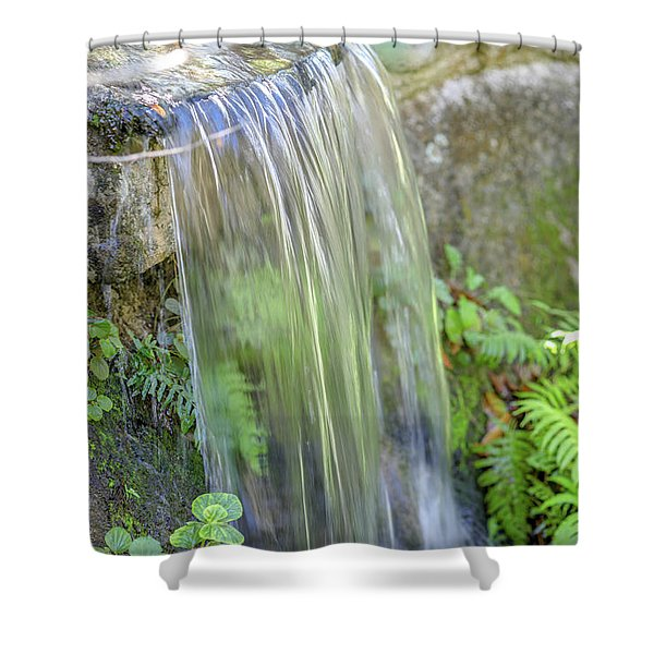 Smooth Water Shower Curtain