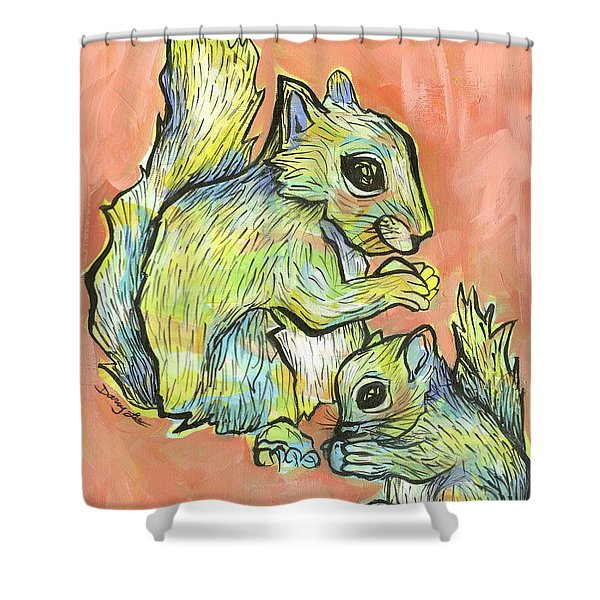 Snack Attack Shower Curtain