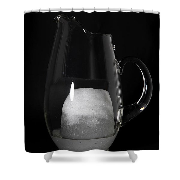 Snow Melting 4 Of 8 Shower Curtain