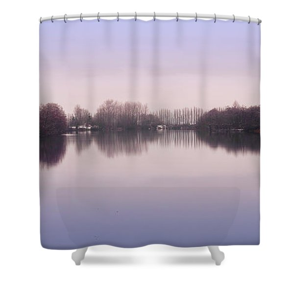 Snow On Snohomish Mug Shower Curtain