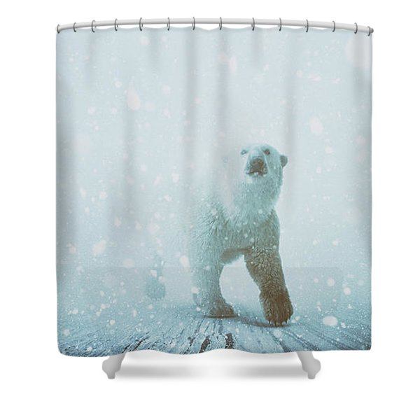 Snow Patrol Shower Curtain